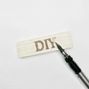 Brandmalerei mit Brennstift - DIY