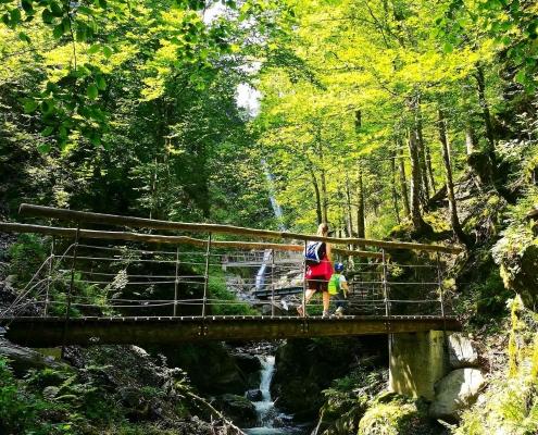 Eifersbacher Wasserfall in St. Johann in Tirol