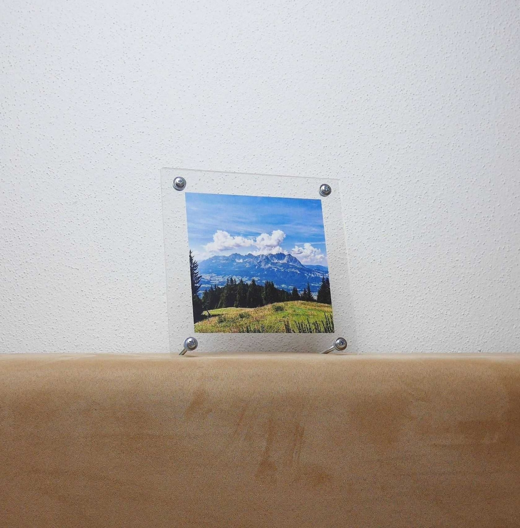 Bilderrahmen aus Kunststoff Platten • Kreativ Blog - DIY & Gadgets
