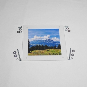 DIY Bilderrahmen aus Kunststoffplatten