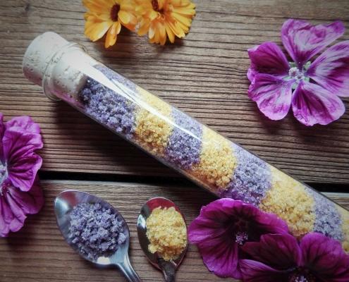 DIY Blütenzucker (c) landeionline