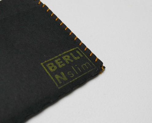 Berlin slim Wallet mit Chipolo Keyfinder