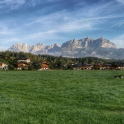 Wilder Kaiser in Oberndorf in Tirol
