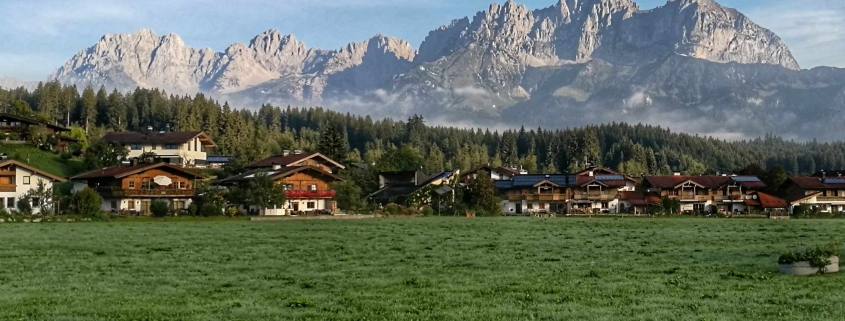 Wilder Kaiser in Oberndorf in Tirol