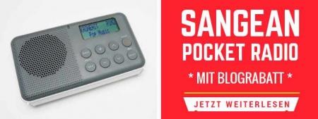 Sangean Pocket Radio