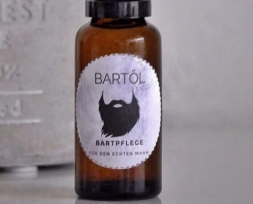 DIY Bartöl Rezept