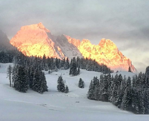Goldener Wilder Kaiser in Kirchdorf in Tirol