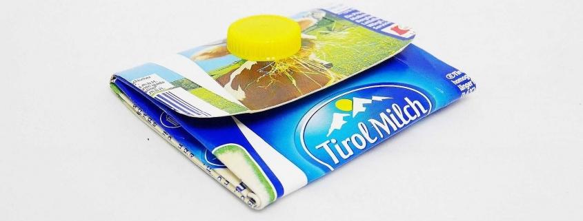 Upcycling Geldtasche aus Tetrapack