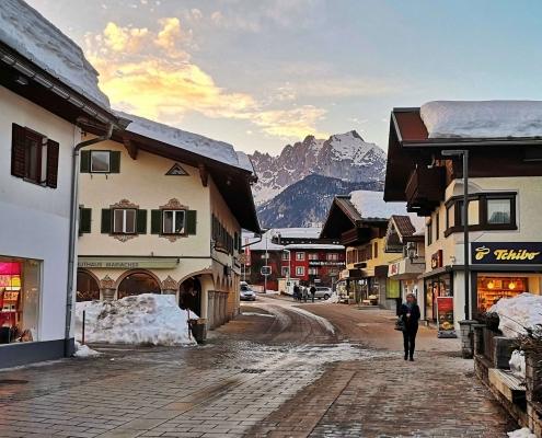 St. Johann in Tirol im Spätwinter