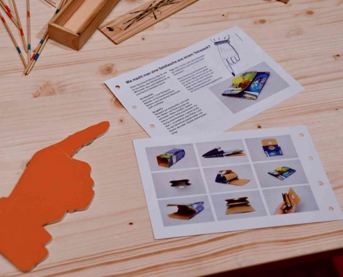 DIY Tetrapack Geldboerse - Der Haende Werk - (c) Schallaburg