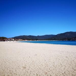 Sandstrand in Marina di Campo - Elba