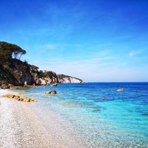 Strand Le Ghiaie in Elba
