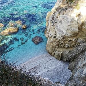 Bucht La Padulella in Elba