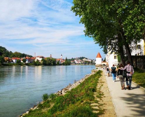Dreiflüssestadt Passau in Bayern