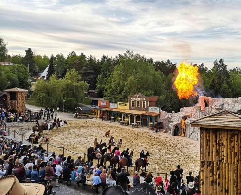 Karl May Show Pullman City - Westernstadt in Bayern