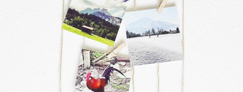 Holz Bilderrahmen aus Ästen - DIY