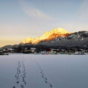 Morgensonne am Wilden Kaiser