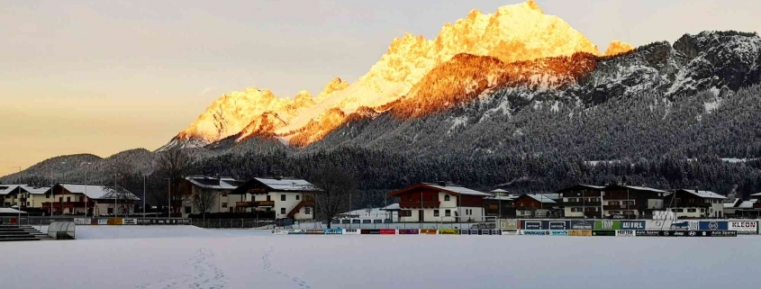 Morgensonne am Wilden Kaiser