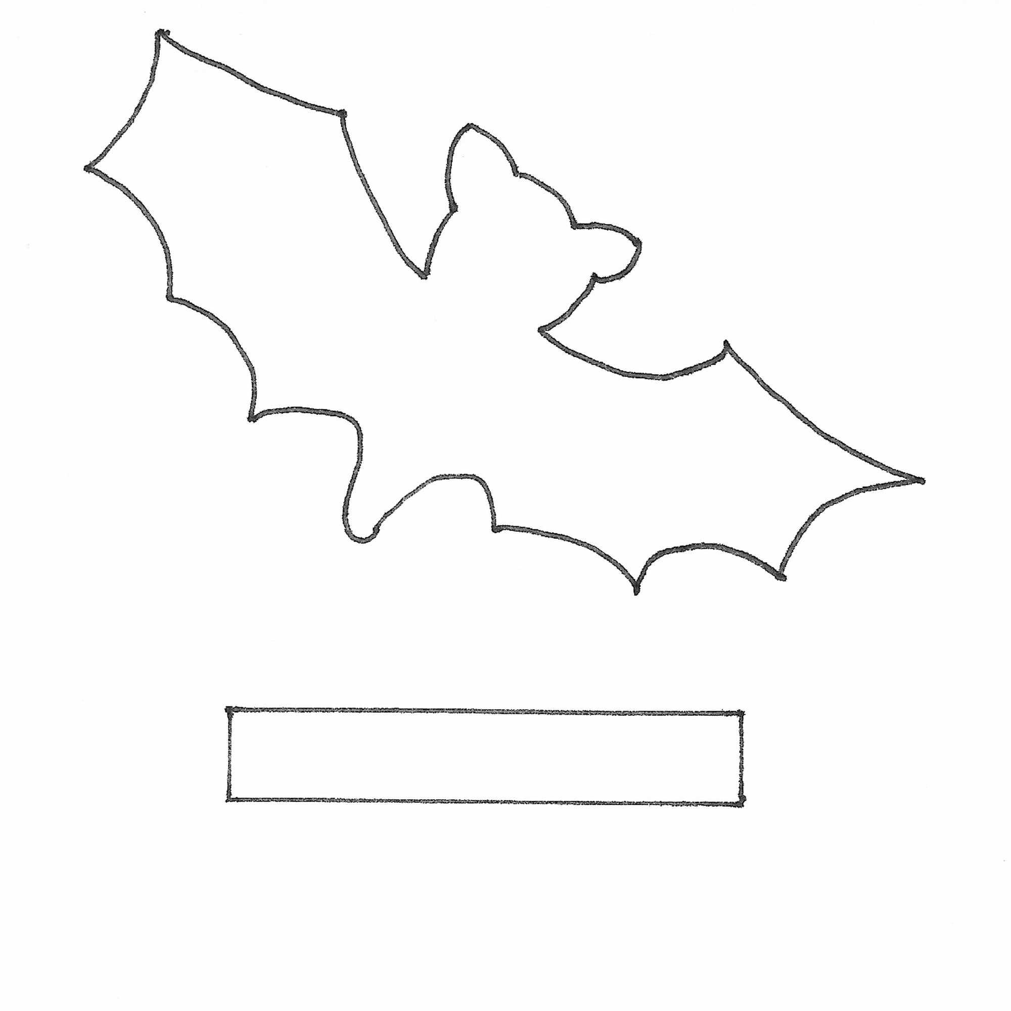 Kleine Fledermaus Als Halloween Dekorations Idee Hexenlabor 4