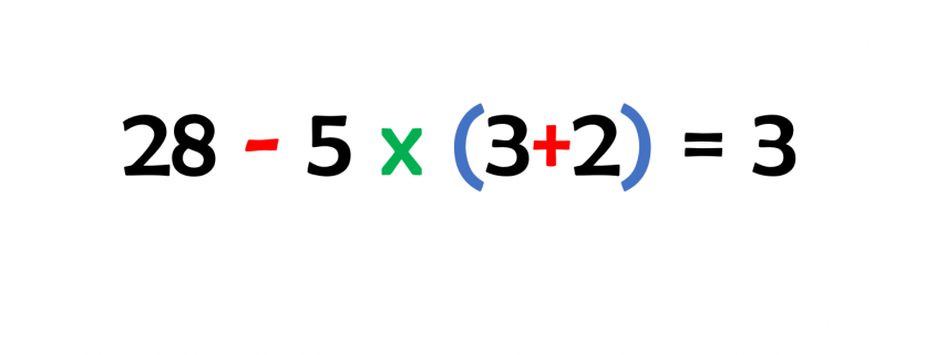 Klapustri Regel in Mathe