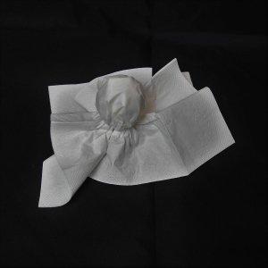 Taschentücher Gespenst basteln