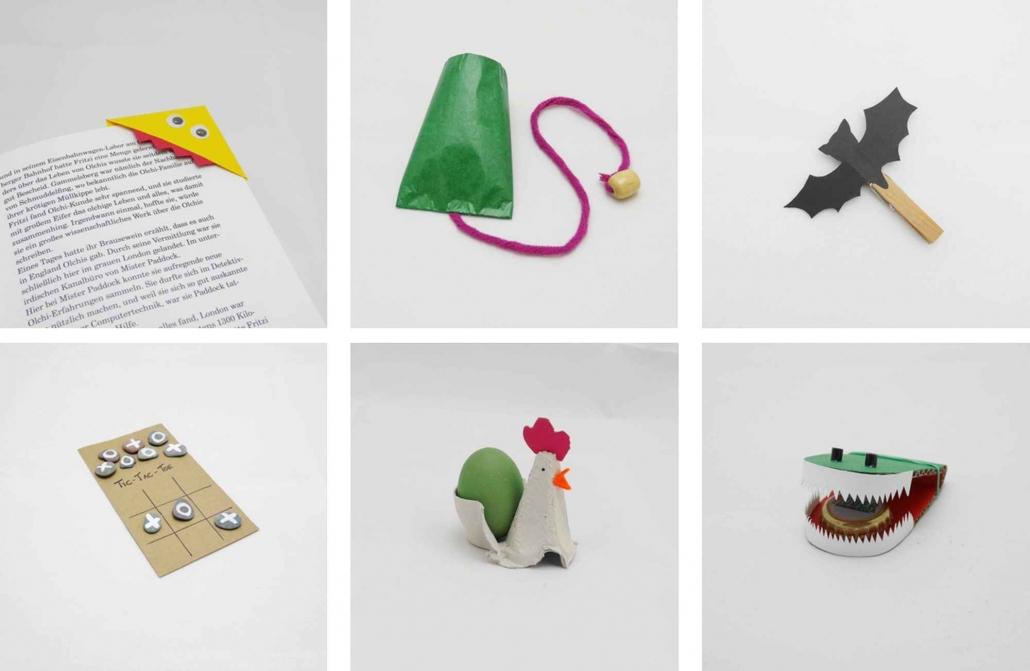 Basteln mit Kindern - Ideen & Anleitungen