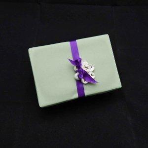 Samenbombe Geschenkanhänger