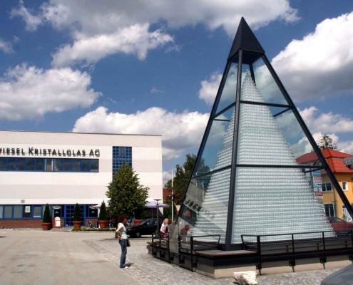 Zwiesel Kristallglas Glaspyramide (c) Stephan Moder