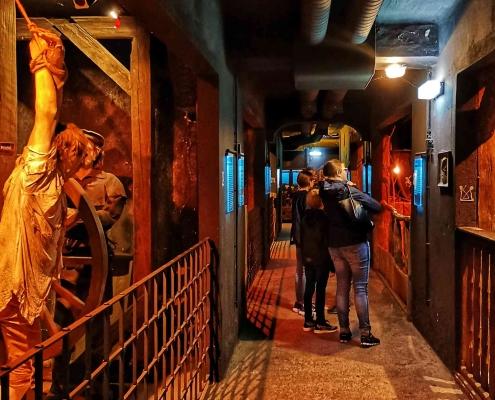 Foltermuseum Wien im Schutzbunker