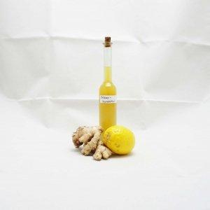Ingwer Zitronen Sirup Rezept
