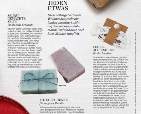 Leder-Kabelhalter - Active Beauty Magazin