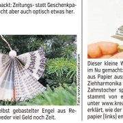 Basteltipp in den Nürnberger Nachrichten