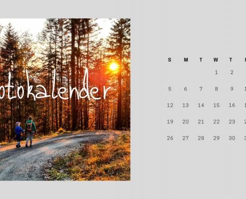 Fotokalender als Geschenkidee
