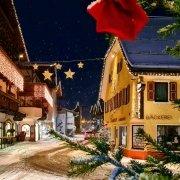 Weihnachtliche Stimmung in St. Johann in Tirol