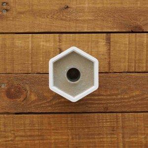 Reagenzglas Beton-Vase