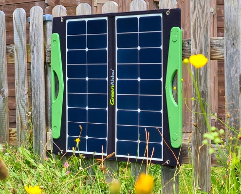 GreenAkku Solartasche